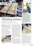 Peter Sefton Making Mitres Article Woodworking Crafts Magazine Jul 2015