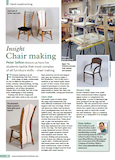 Peter Sefton Chair Making Article Woodworking Crafts Magazine November 2015