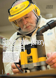 Feb 2015 Chris Yates Furniture & Cabinetmaking Magazine Article Router Joinery Part 1